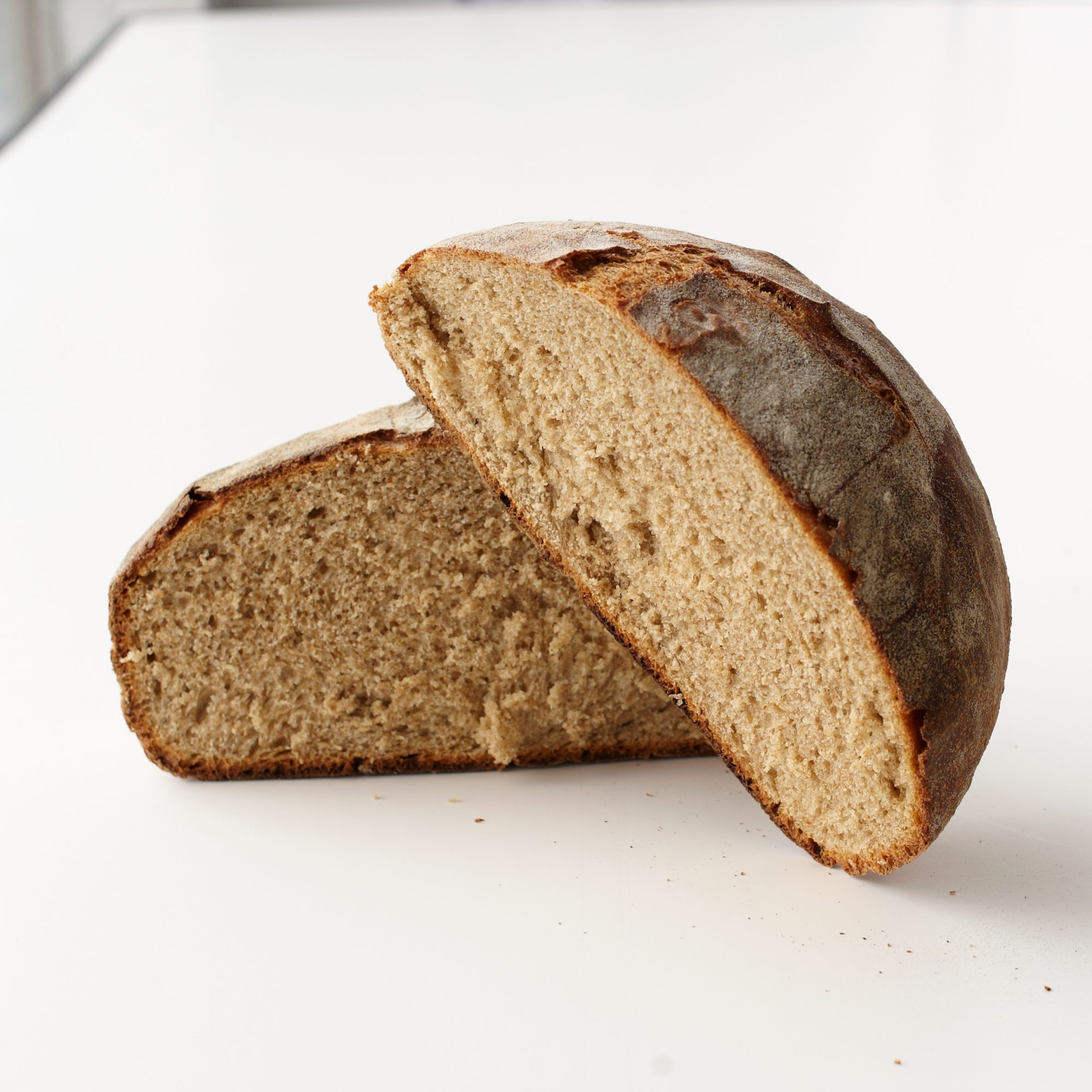 Crusty Wheat Bread