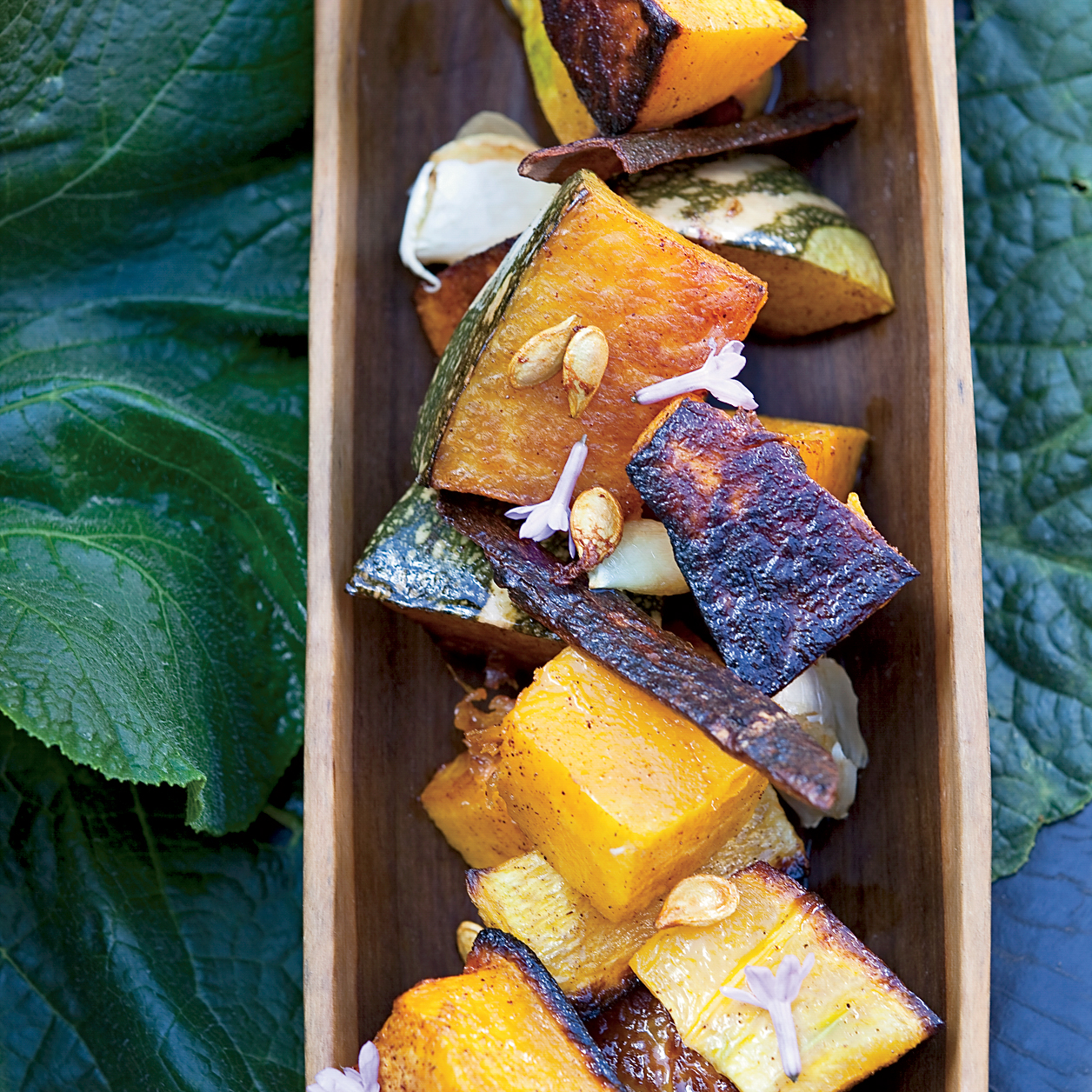 Sugar-and-Spice-Roasted Squash