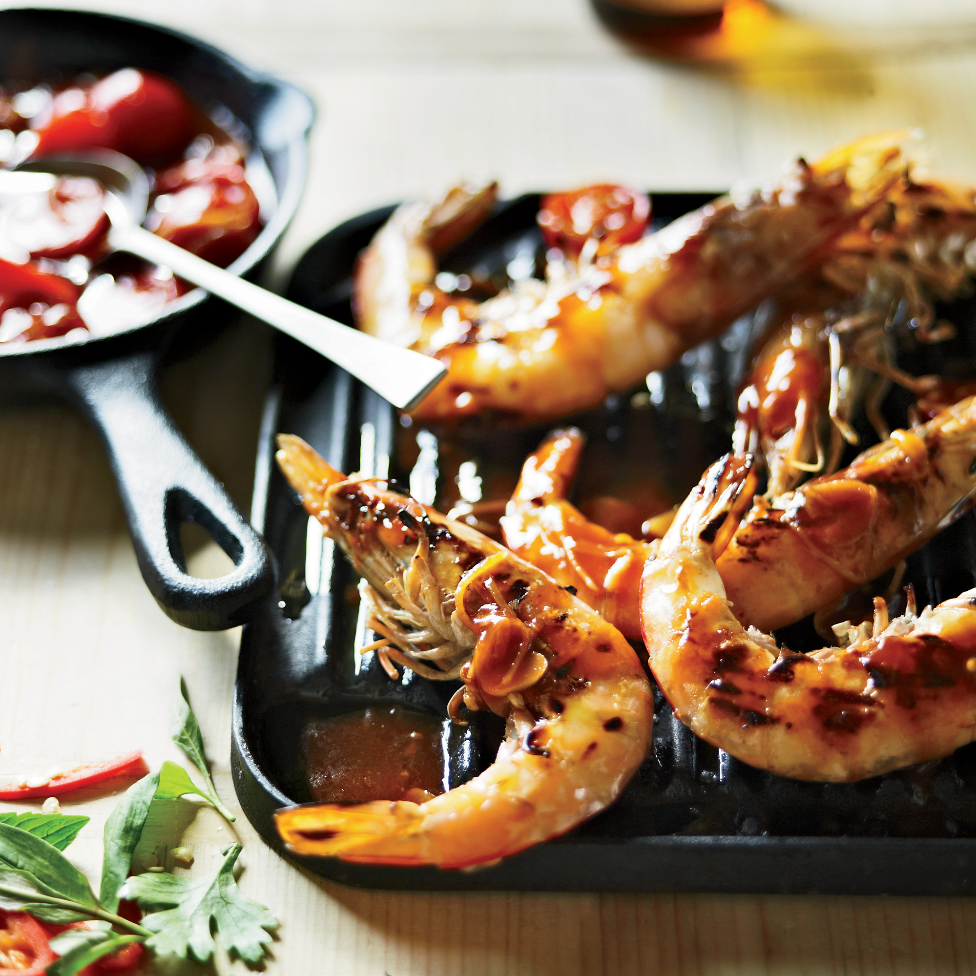 Grilled Shrimp with Sweet Chile Sauce