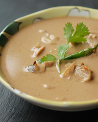 Thai Hot-and-Sour Coconut-Chicken Soup