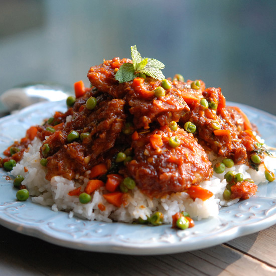 Sweet and Sour Bangkok-Style Chicken with Chiles