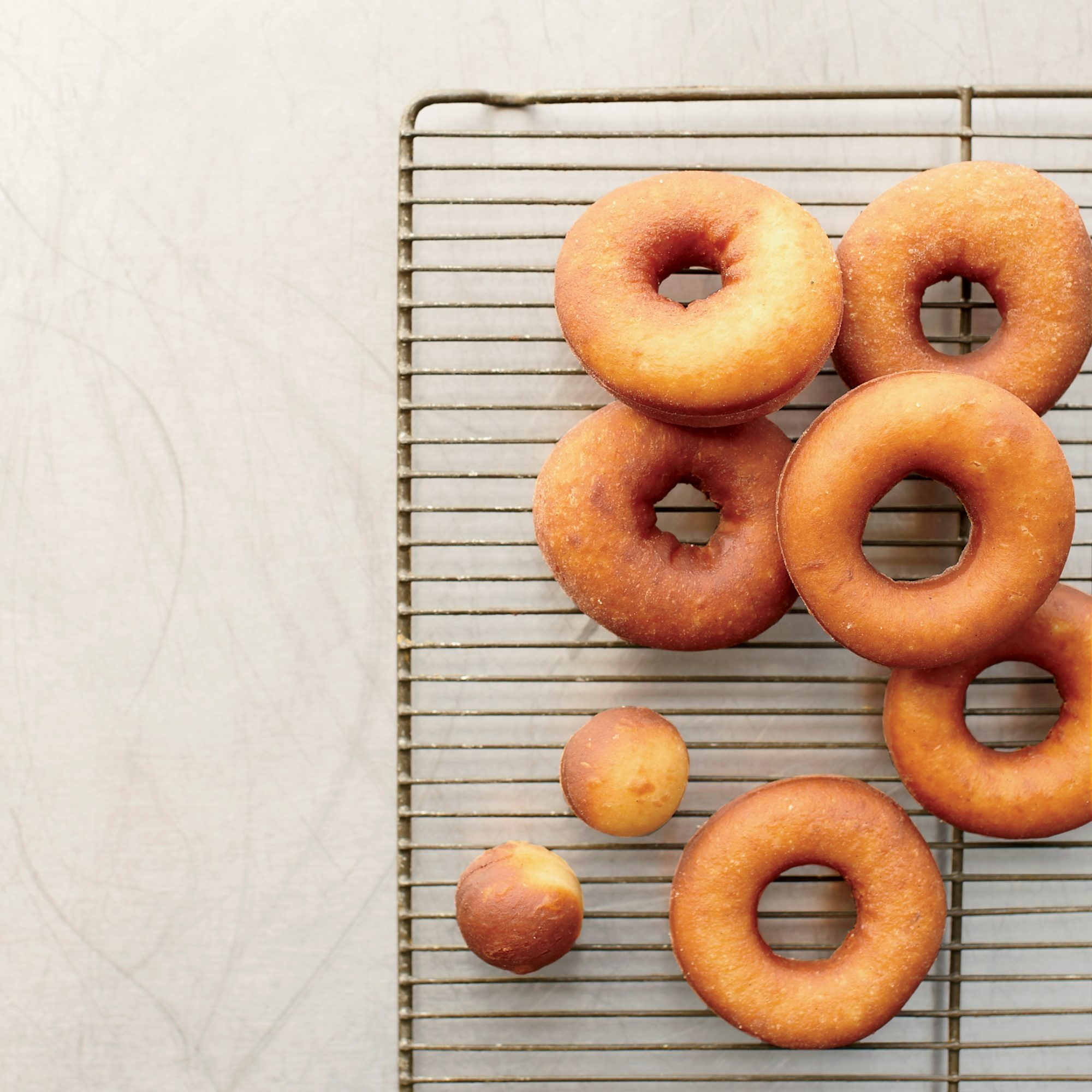 Vanilla Raised Doughnuts