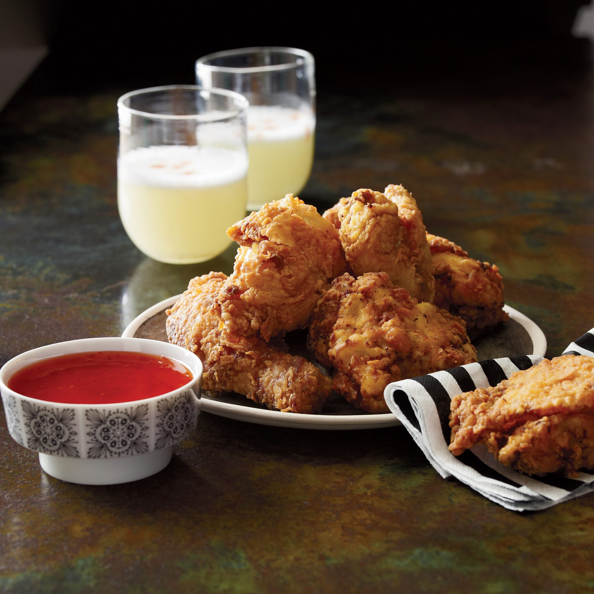 Buttermilk Fried Chicken with Madras Curry