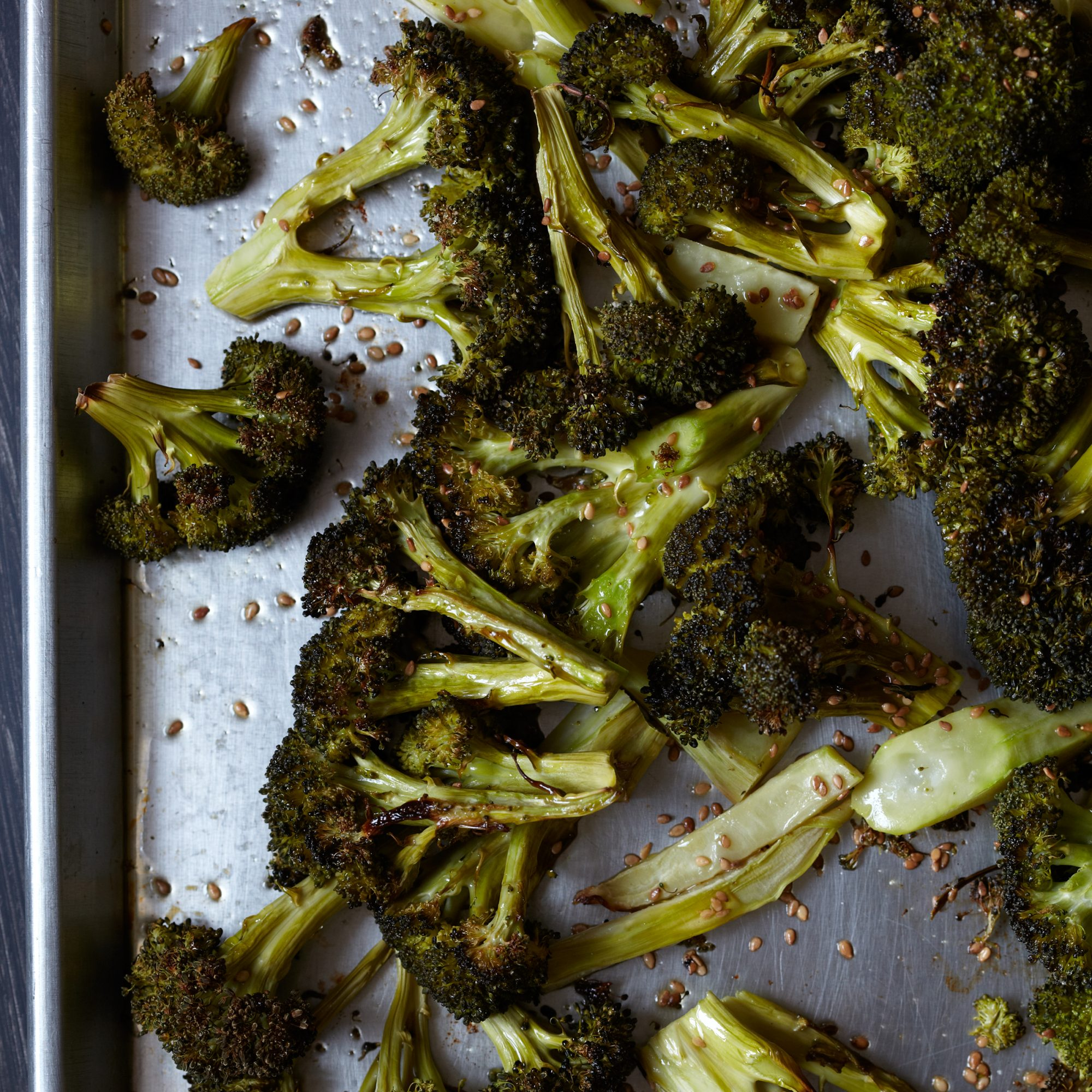 Roasted Broccoli with Sesame