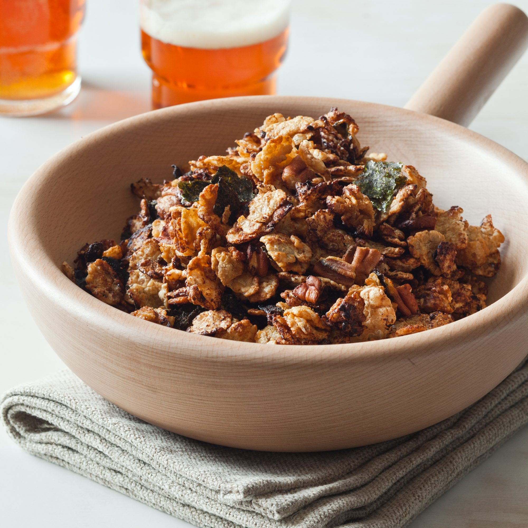 Asian Snack Mix with Nori