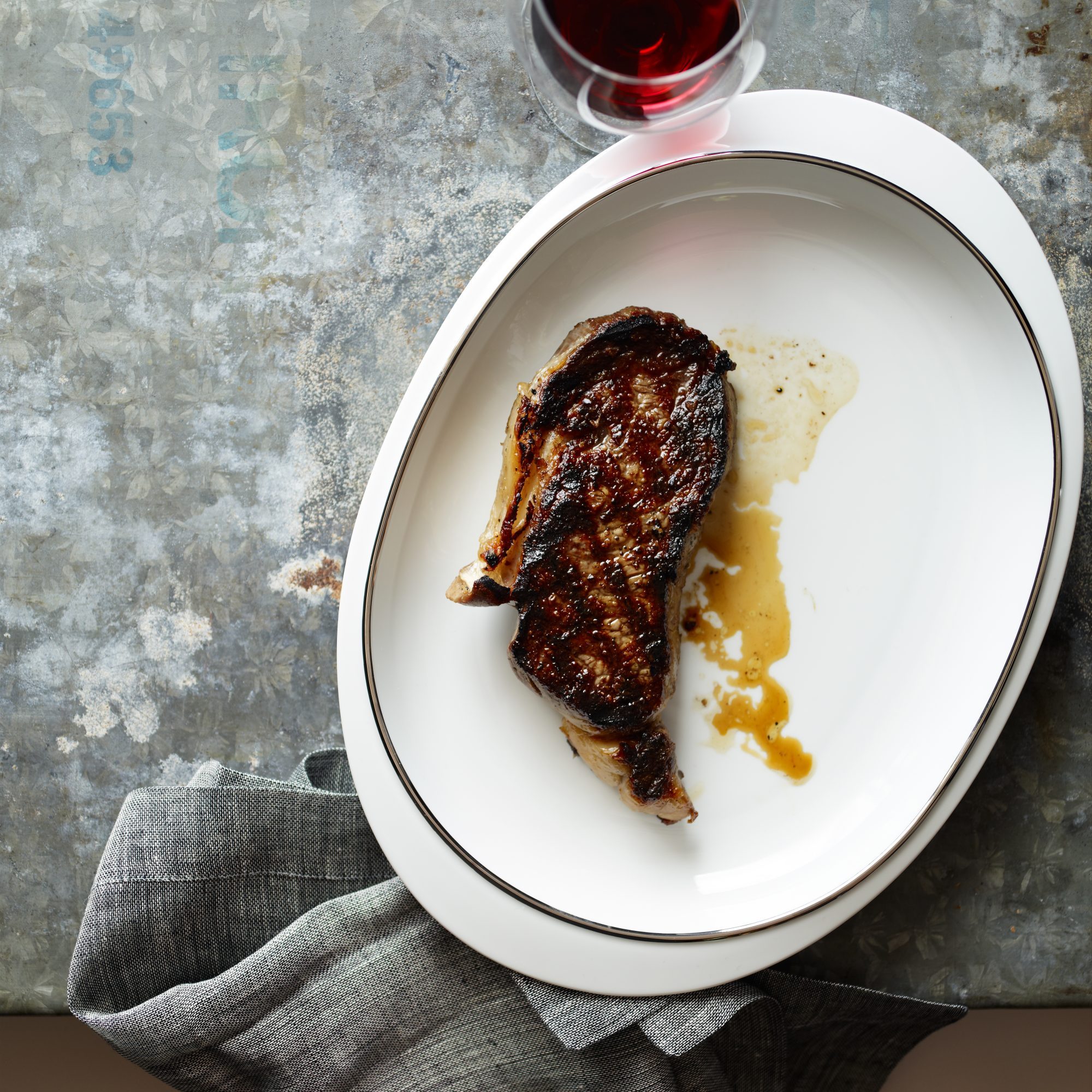 Quick-Aged Grilled Rib Eyes