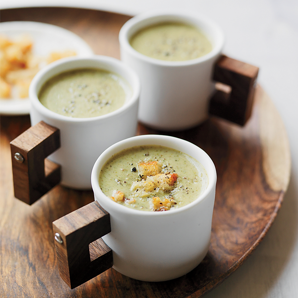Creamy Roasted Broccoli Soup