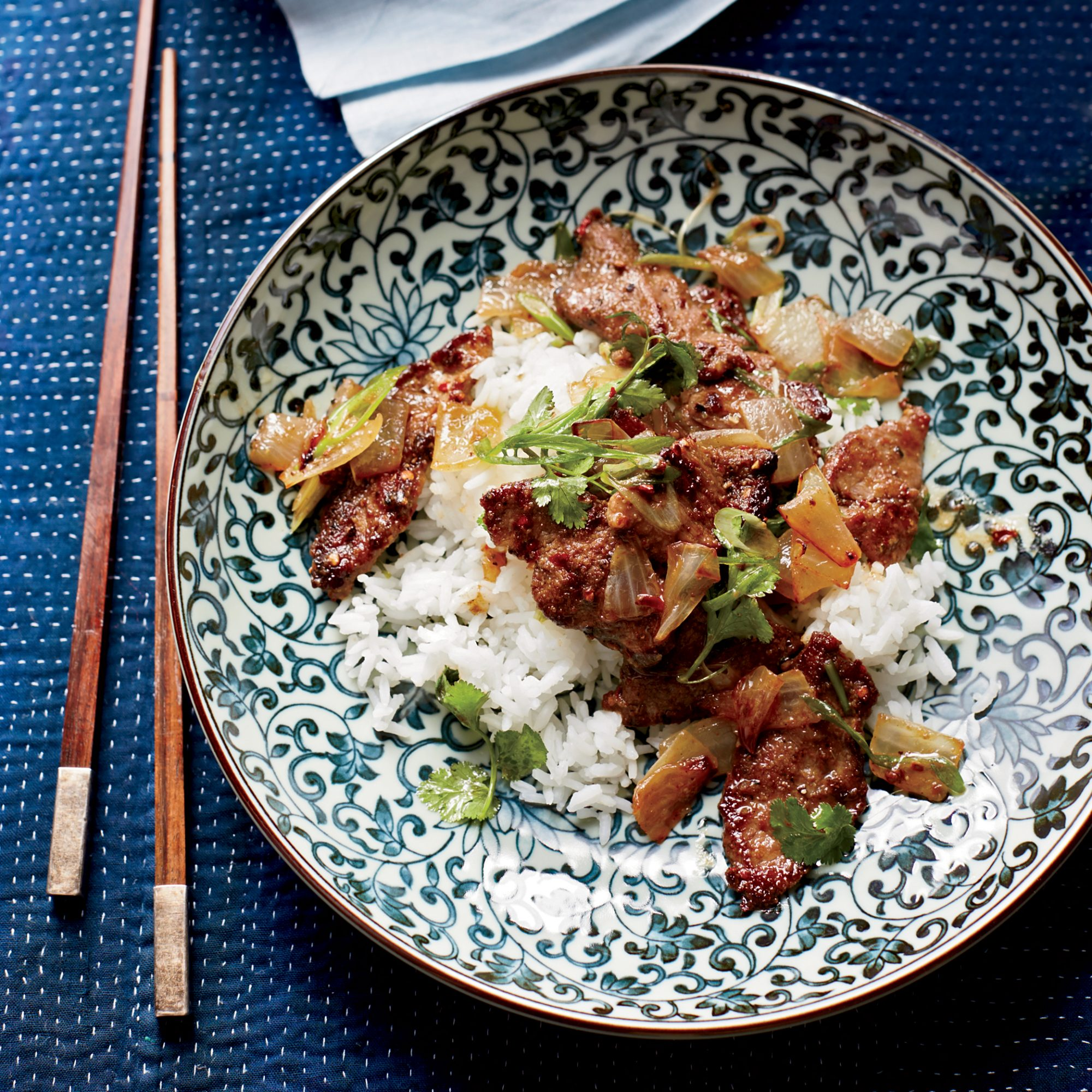 Spicy Sichuan-Style Lamb with Cumin