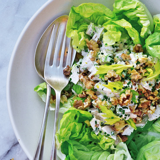 Chicken Salad with Walnuts and Tarragon