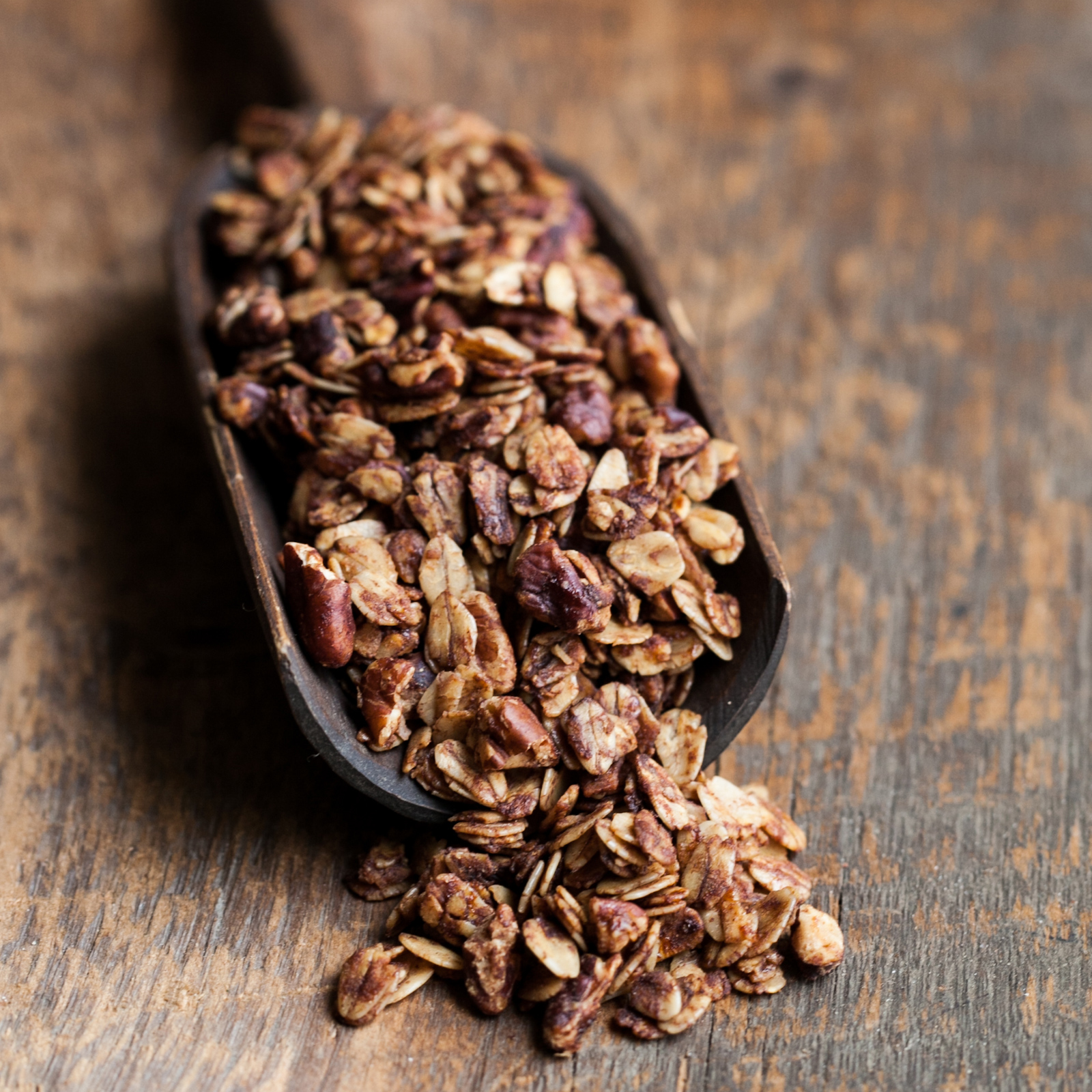 Cinnamon-Honey Granola