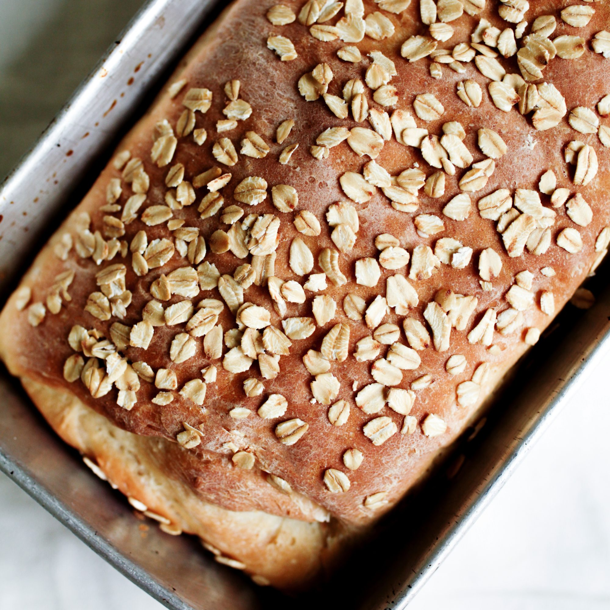 Honey, Nuts and Oats Gluten-Free Sandwich Bread