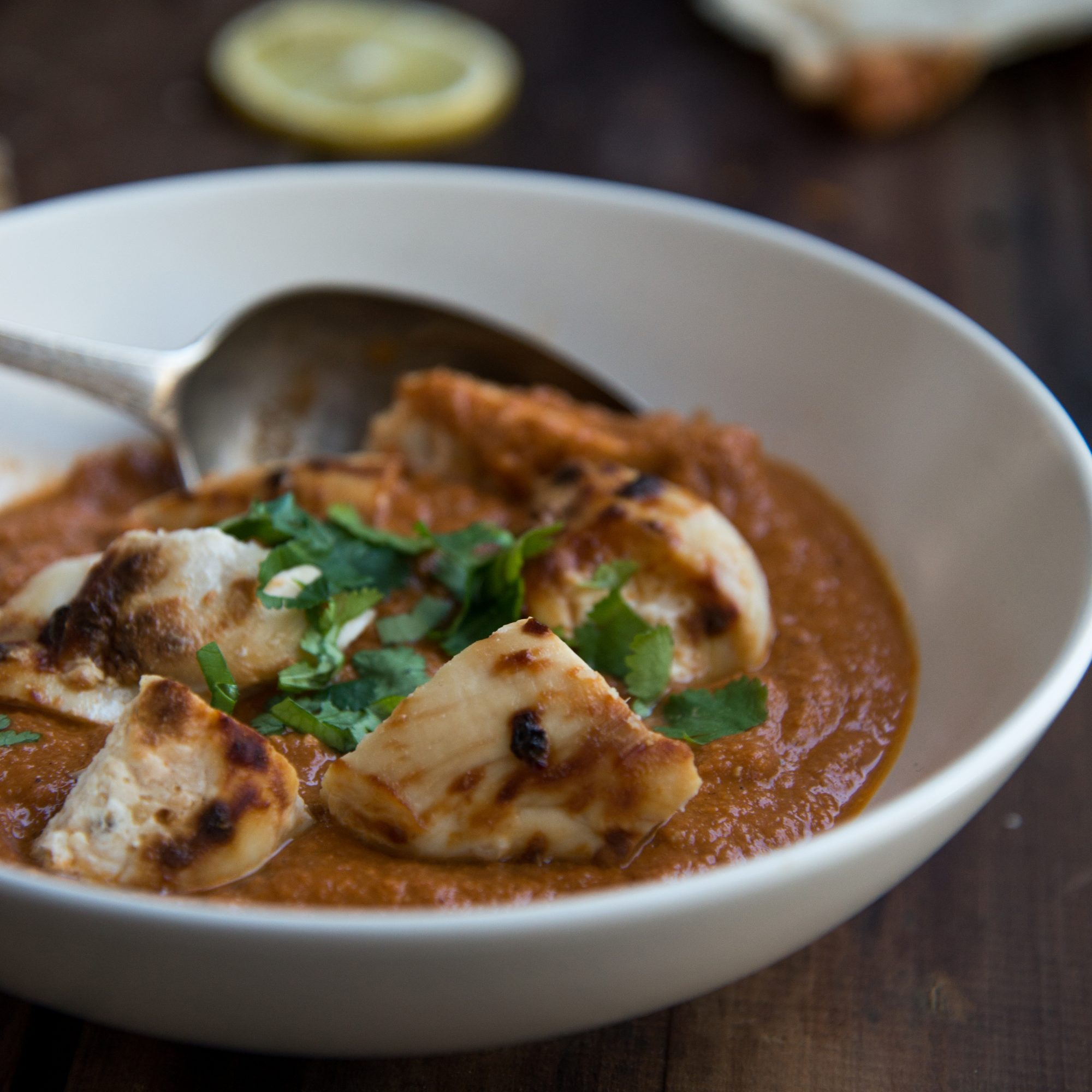 Healthier Chicken Tikka Masala with Cashews