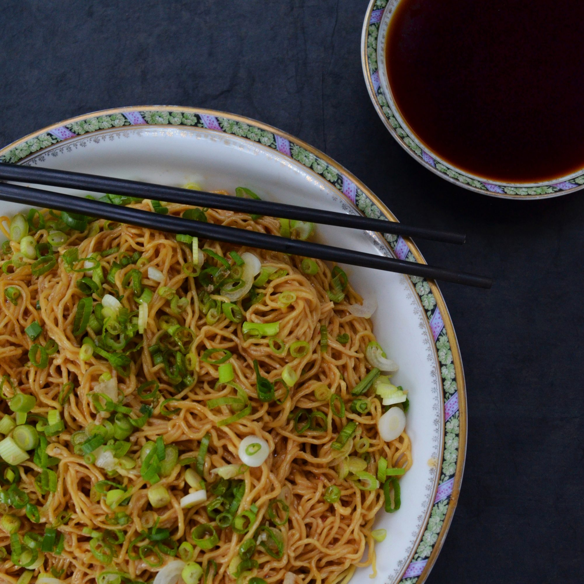 Sweet, Aromatic Soy Sauce Noodles