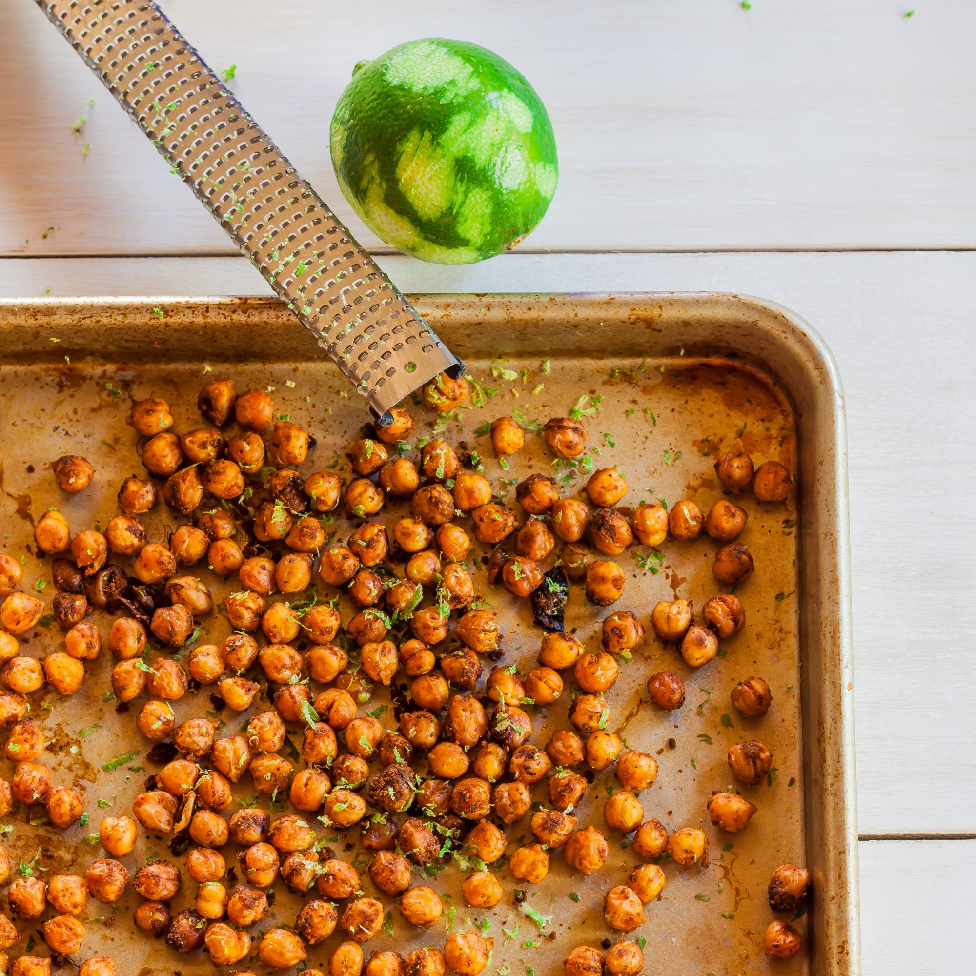 Southwest Spiced Chickpeas with Cumin and Lime
