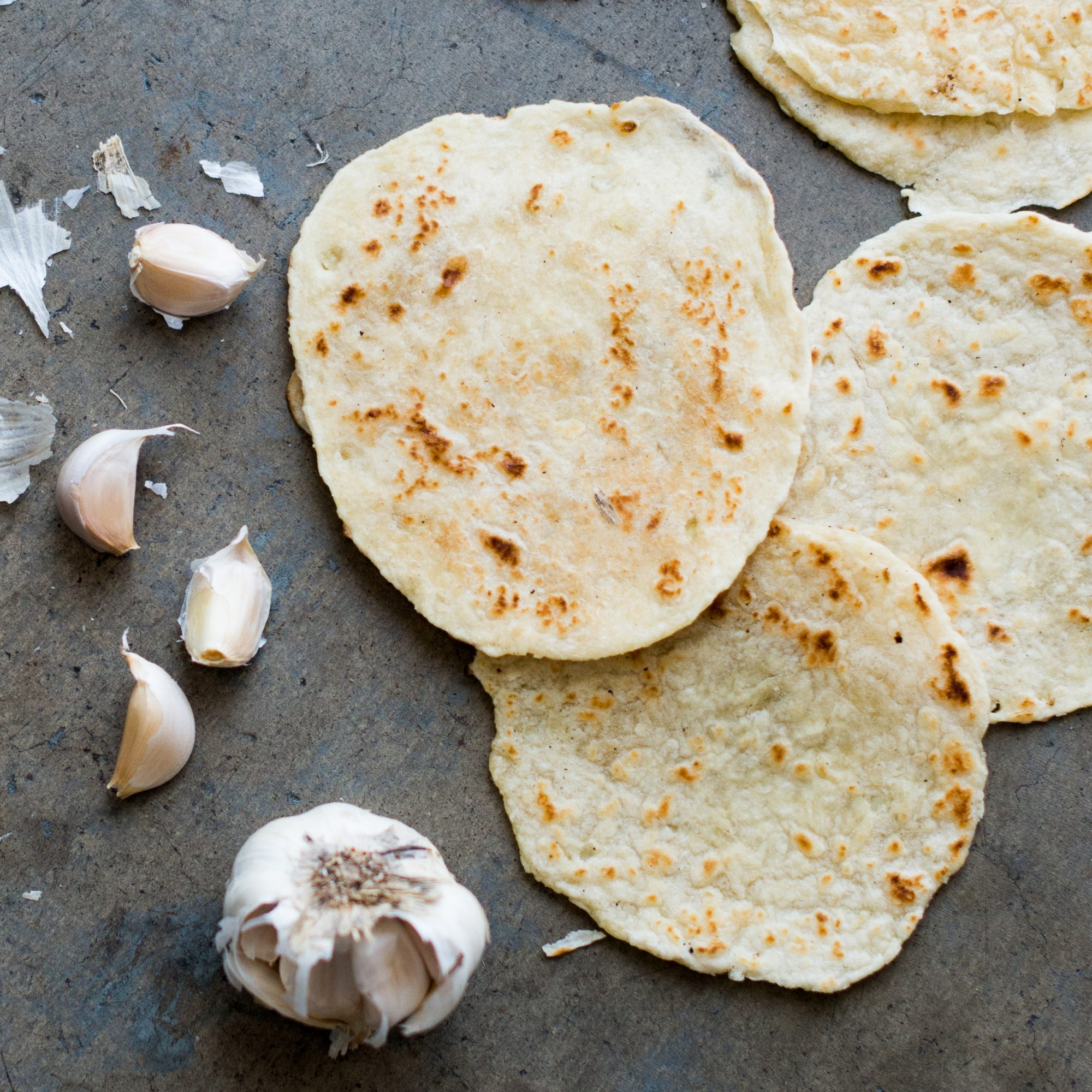 Flour & Garlic Tortillas