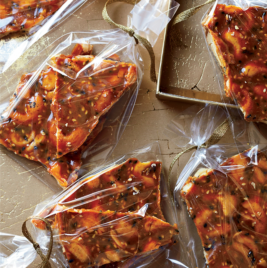 Roasted Cashew and Sesame Brittle