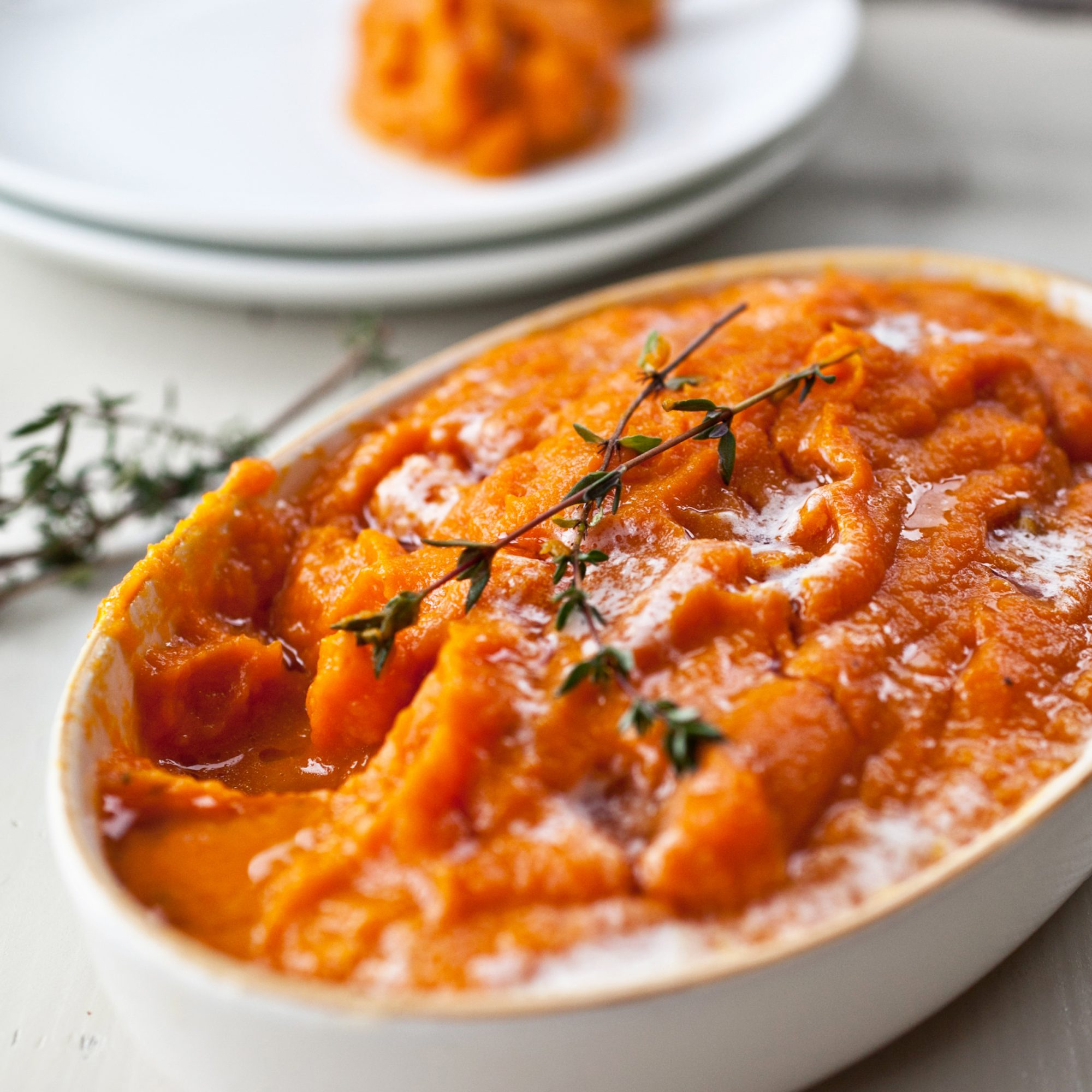 Winter Squash and Carrot Puree