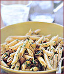 Penne Salad with Eggplant