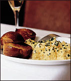 French Scrambled Eggs with Truffle Oil