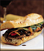 Hot Strip Steak Sandwiches