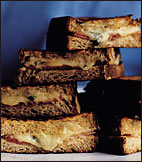 Two-Cheese Croque-Monsieurs