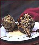 Baked Artichokes with Fennel