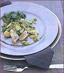 Chicken-Avocado Salad with Soybeans