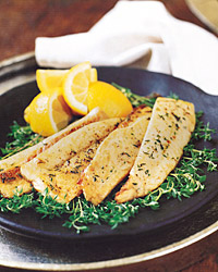 Broiled Shad with Thyme