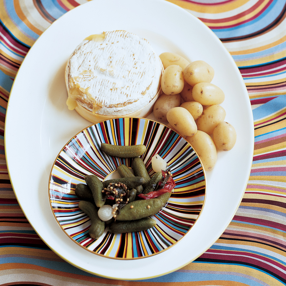 Camembert Baked in Its Box