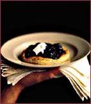 Chestnut and Armagnac-Poached Prune Tarts