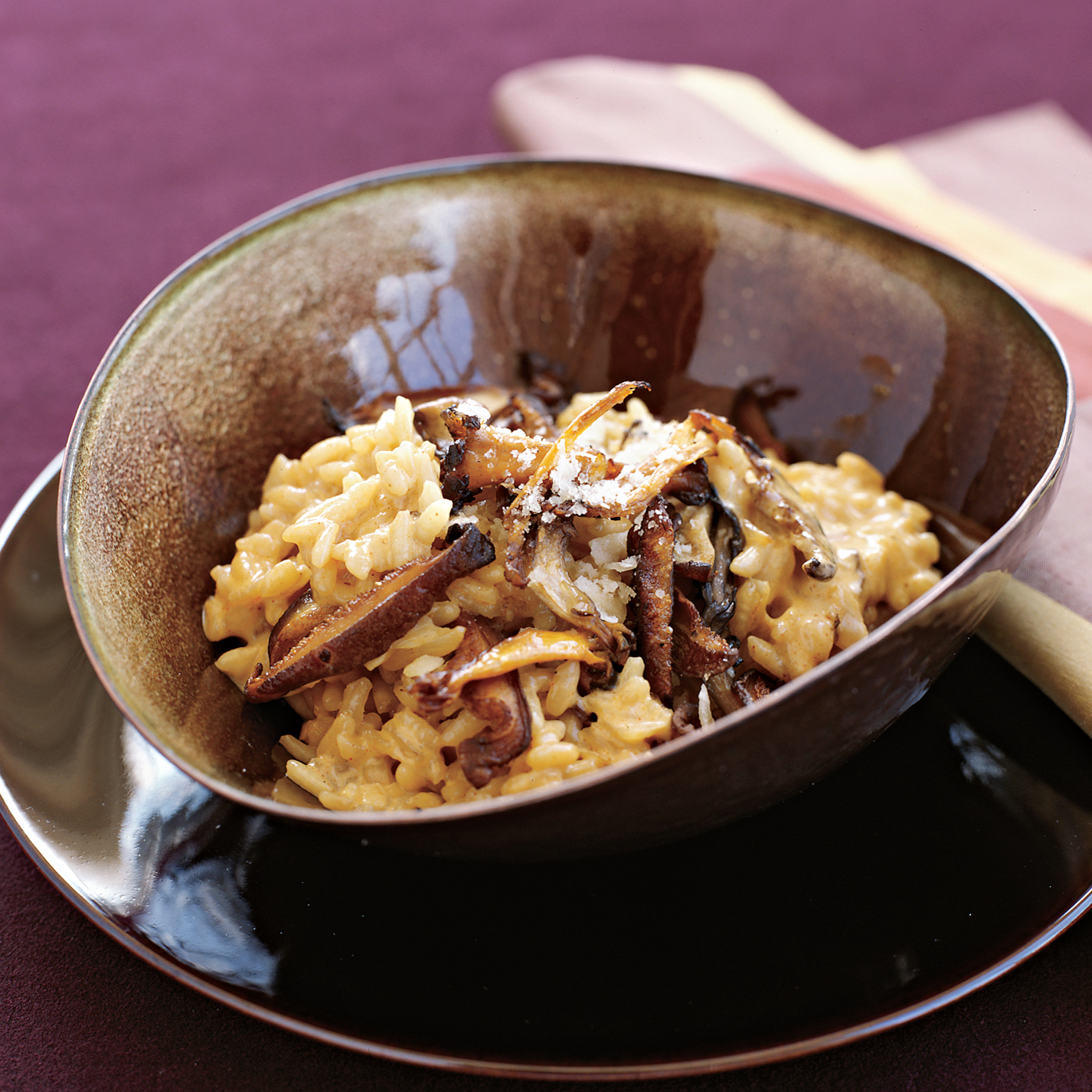 Chimayó-Chile Risotto with Shiitake Mushrooms