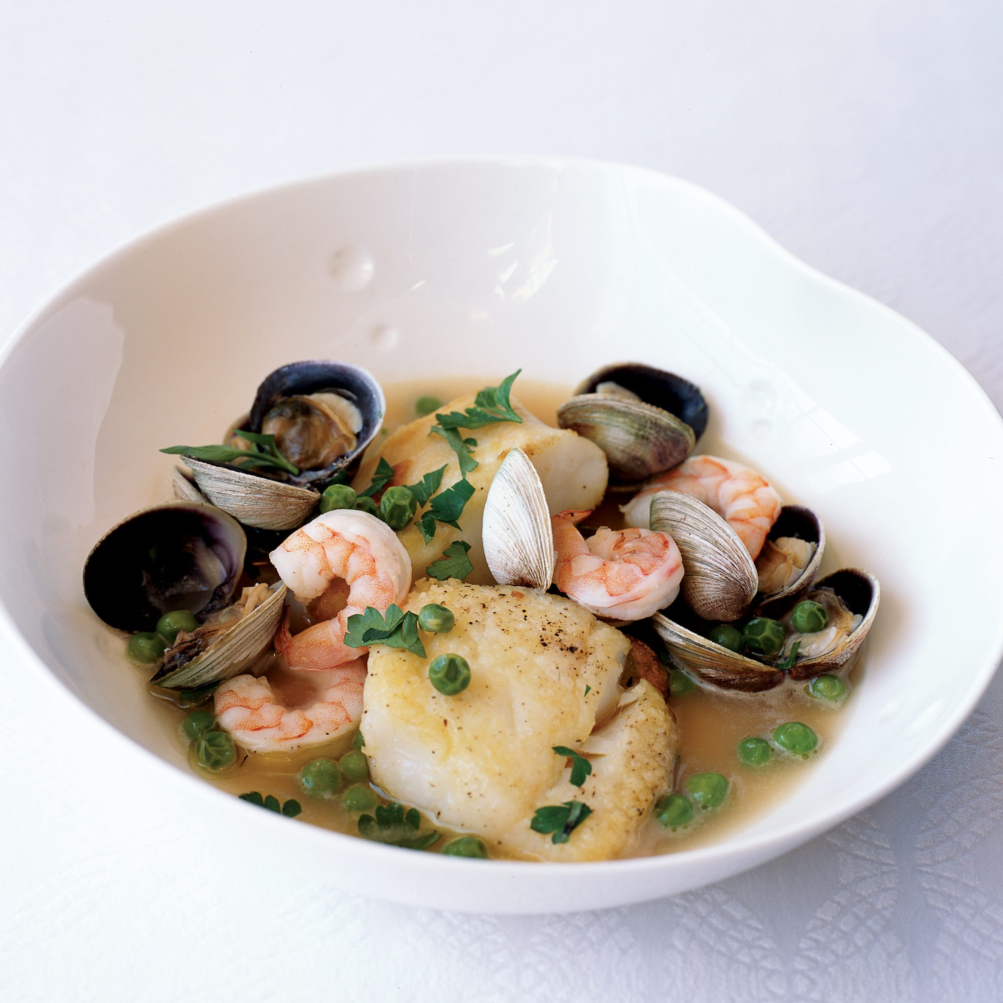 Cod with Basque Wine Sauce