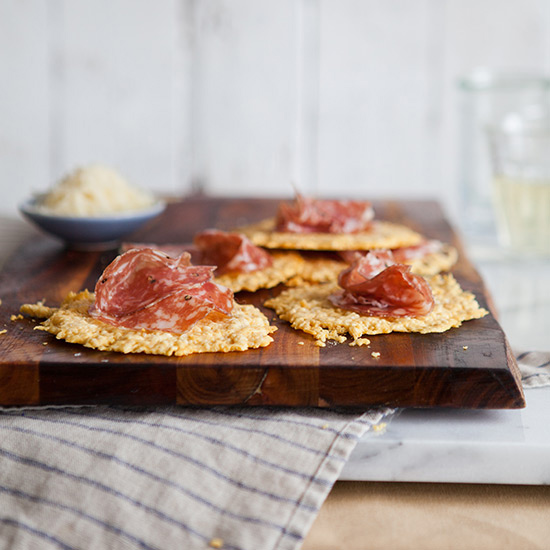Frico and Soppressata Chips