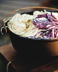 Crunchy Coleslaw with Cayenne and Toasted Caraway Seeds