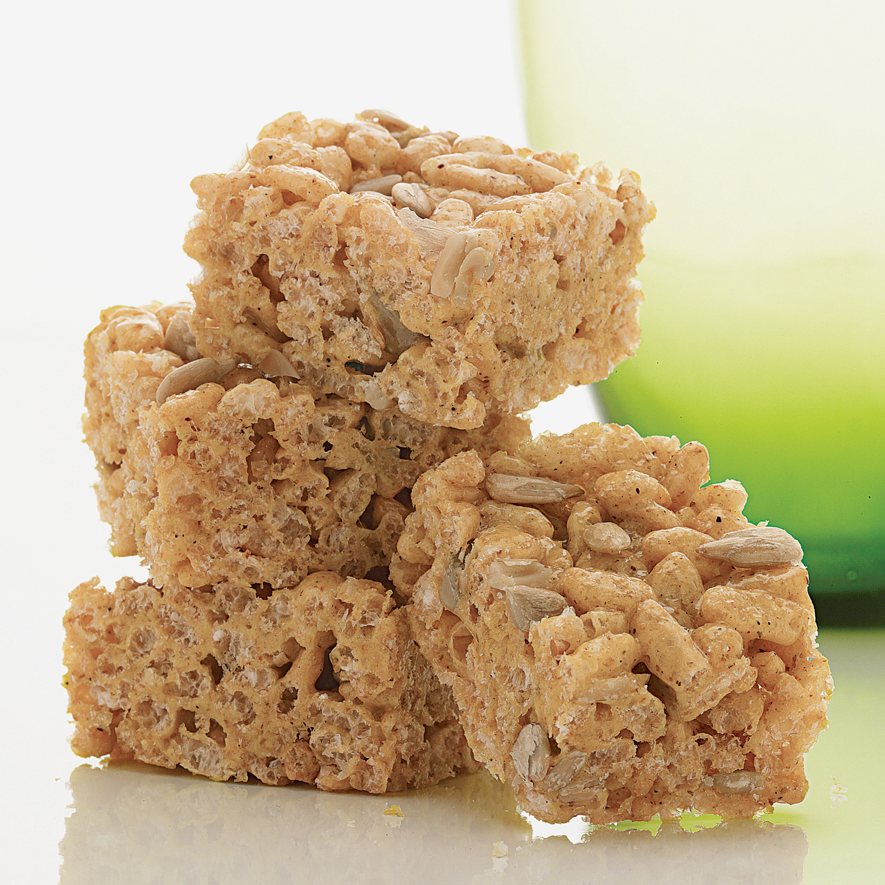 Curried Rice Krispies Squares