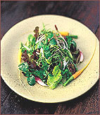 Spring Salad with Baby Carrots