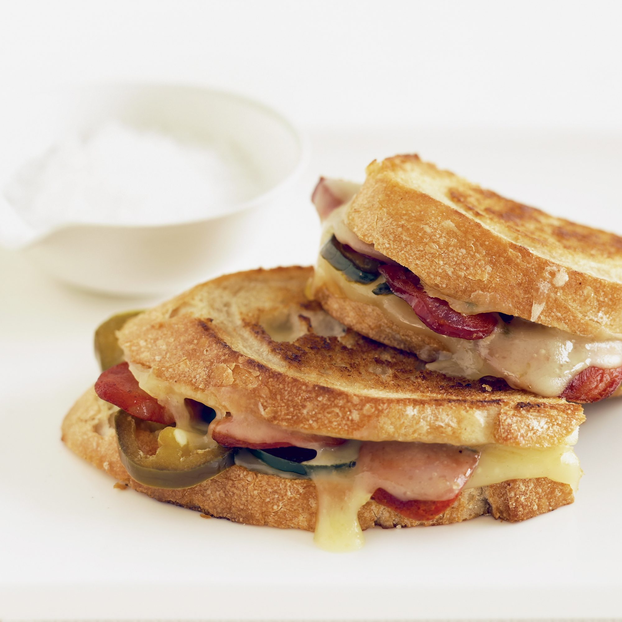 Grilled Cheese and Chorizo Sandwiches
