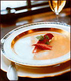 Lobster Bisque with Armagnac