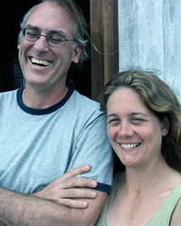David Page and his wife, Barbara Shinn.