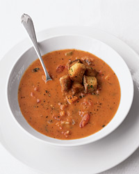 Fire-Roasted Tomato Bisque