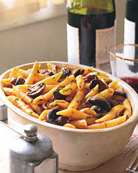 Penne with Roasted Marsala Mushrooms