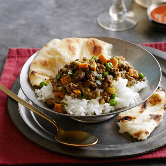 Quick Coconut Lamb Curry