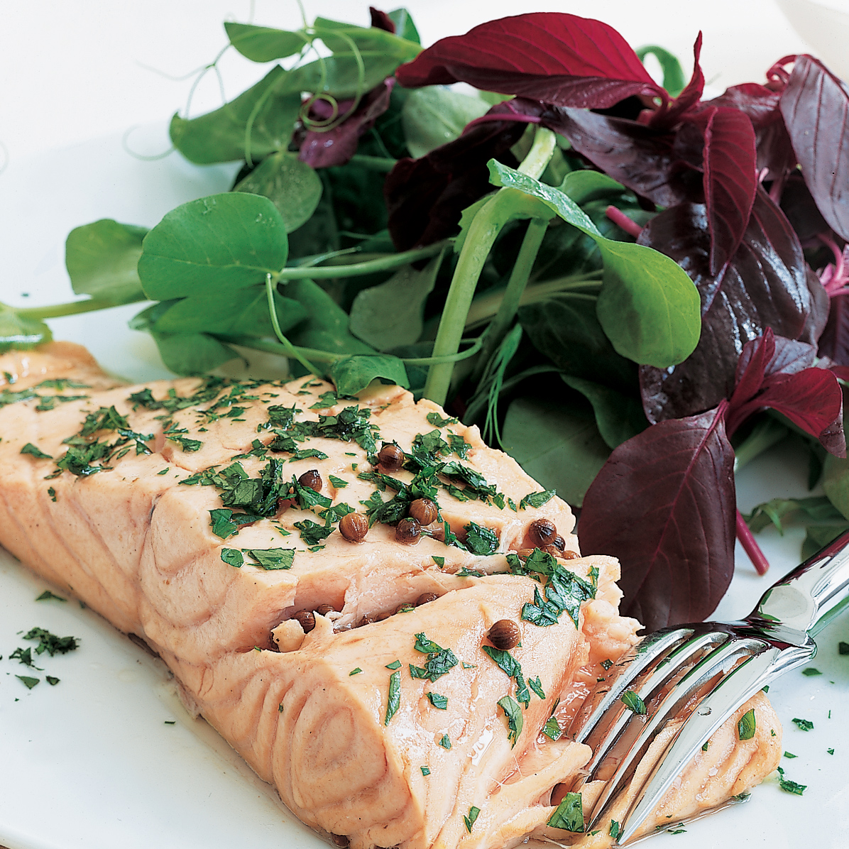 Riesling-Poached Salmon