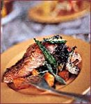 Herb Roasted Salmon with Creole Vegetables