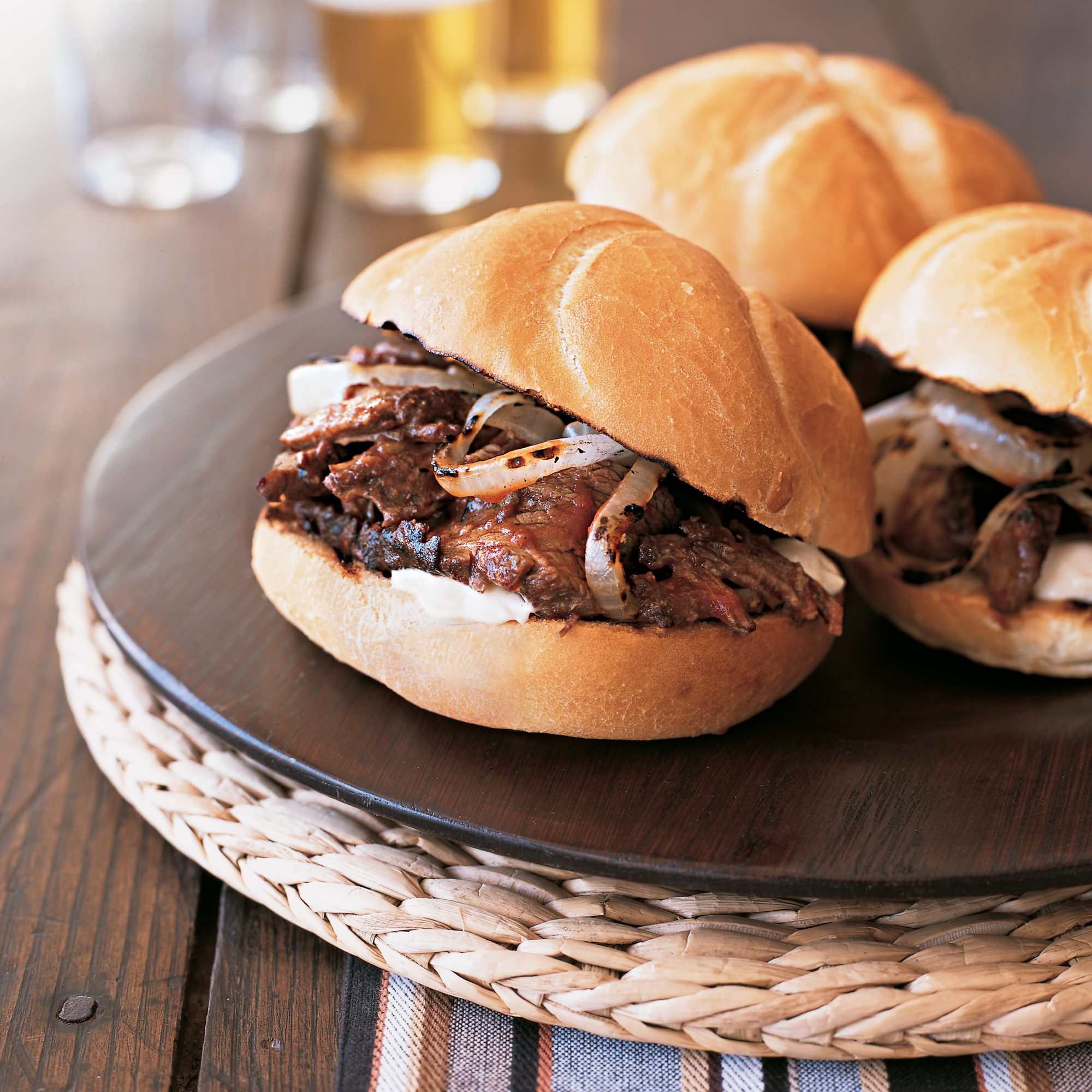 Short Rib Sandwiches with Horseradish Mayonnaise