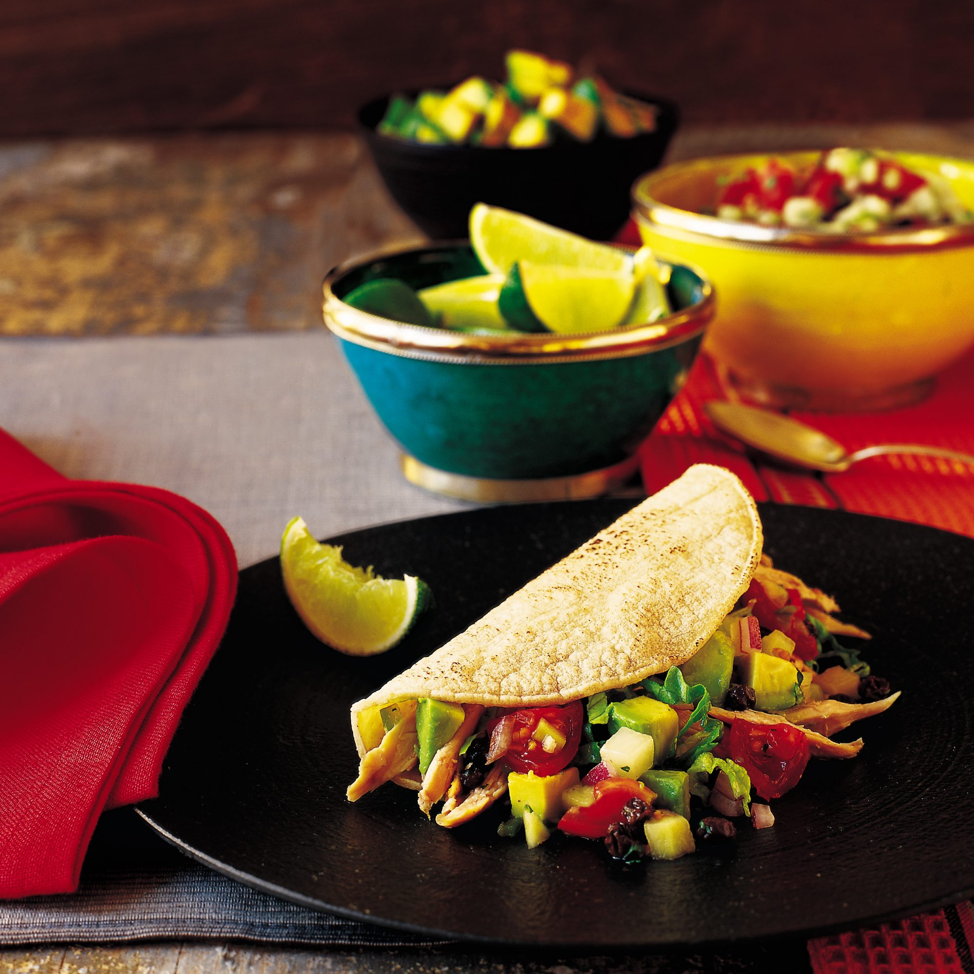 Spiced Chicken Tacos with Crispy Skins