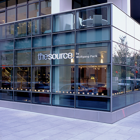 Best Museum Restaurants in the U.S.:The Source by Wolfgang Puck, Newseum; Washington, DC