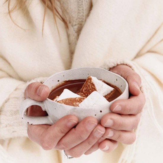 Super-Rich Hot Chocolate with Coconut Cream