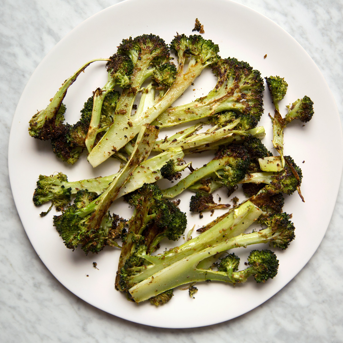 Coriander-Roasted Broccoli