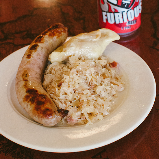 Minneapolis Photo Tour: Kielbasa Meal